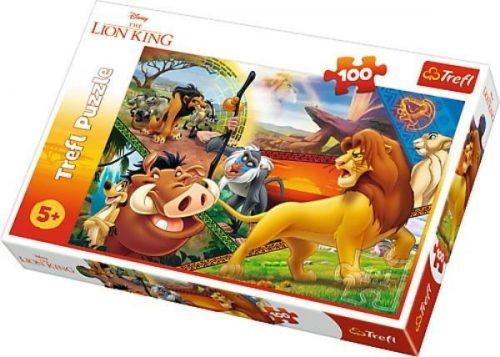 Trefl Puzzle 100el Król Lew: Przygody Simby