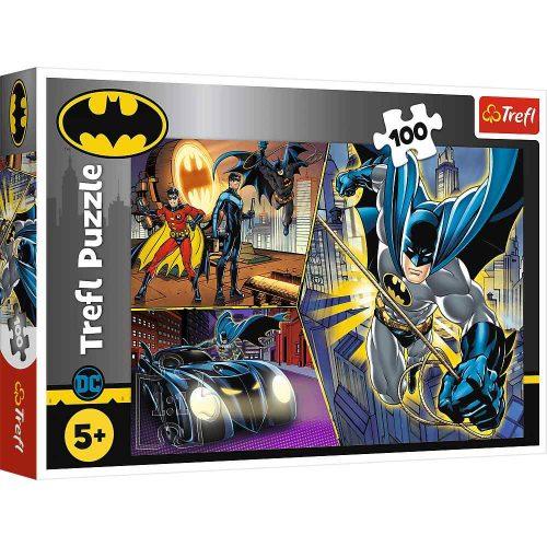 Trefl Puzzle 100el Nieustraszony Batman