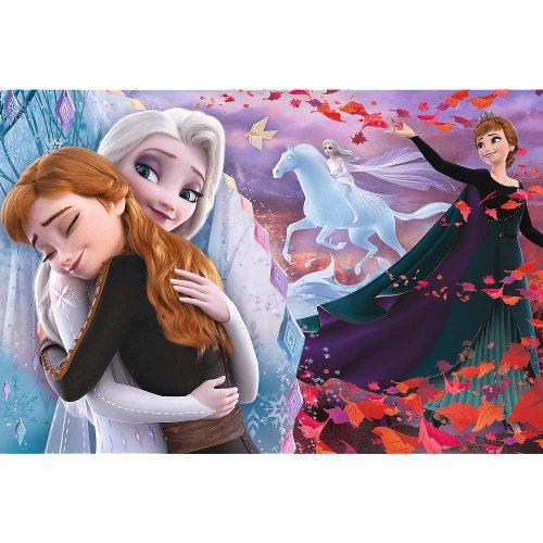 Trefl Puzzle 100el Razem na zawsze / Disney Frozen 2