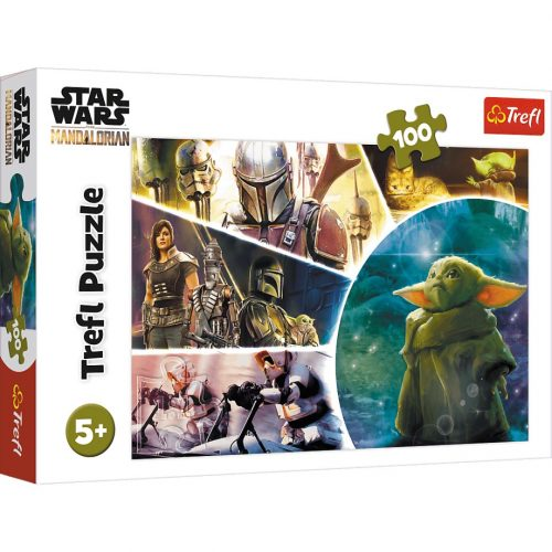 Trefl Puzzle 100el Baby Yoda