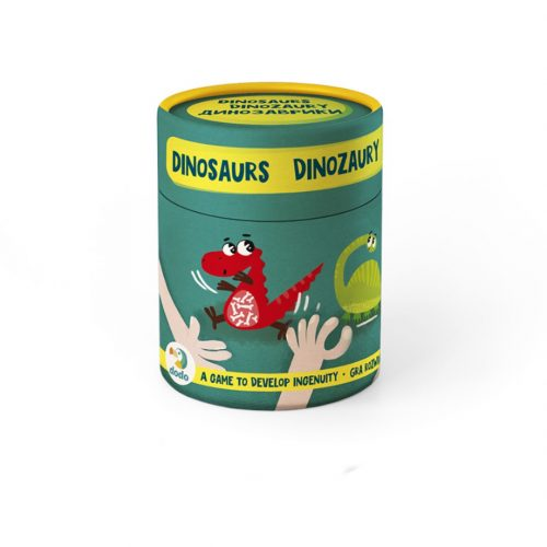 Memory Gry na spostrzegawczość dla dzieci Dinozaury