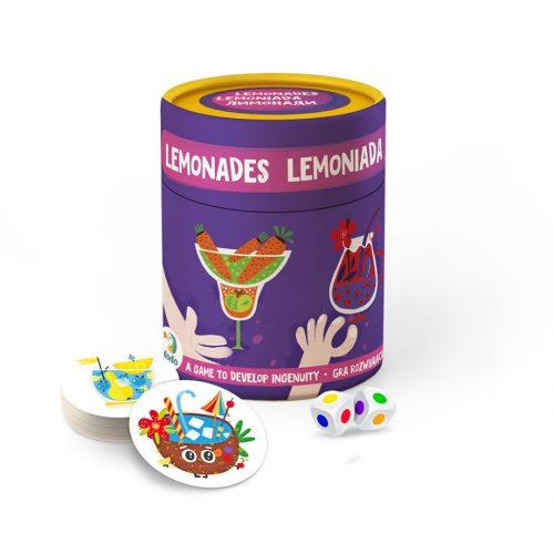 Memory Gry na spostrzegawczość dla dzieci Lemoniada