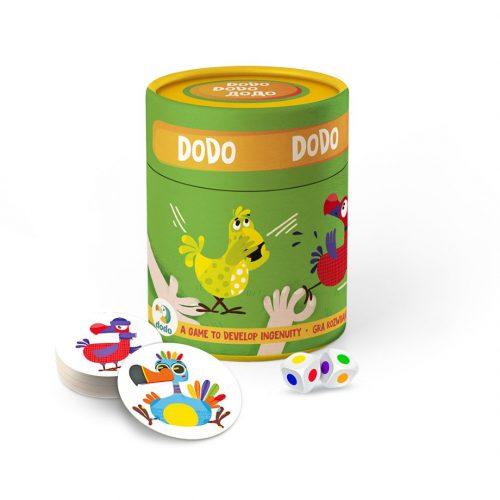 Memory Gry na spostrzegawczość dla dzieci Dodo
