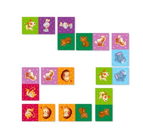Domino dla dzieci zwierzęta