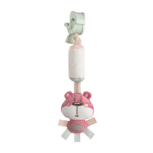 Dzwoneczek zabawka dla niemowląt Canpol Freinds różowa