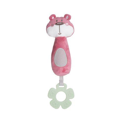 Piszczek zabawka dla niemowląt Canpol Friends różowa