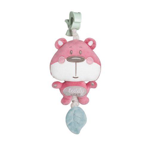 Zabawka pluszowa z pozytywką Canpol Pastel różowa