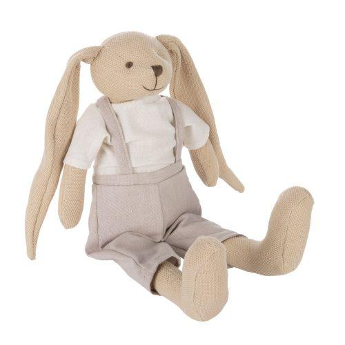 Przytulanka króliczek pluszak canpol babies beżowy 35 cm