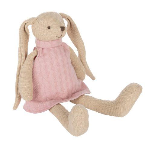 Przytulanka króliczek pluszak canpol babies różowy 35 cm