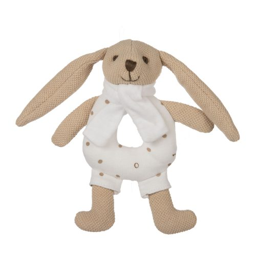 Pluszowa grzechotka  króliczek Canpol beżowa