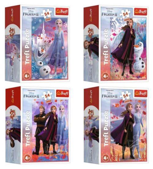 Trefl puzzle miniMaxi 20 Frozen Przyjaźń w Krainie Lodu mix wzorów