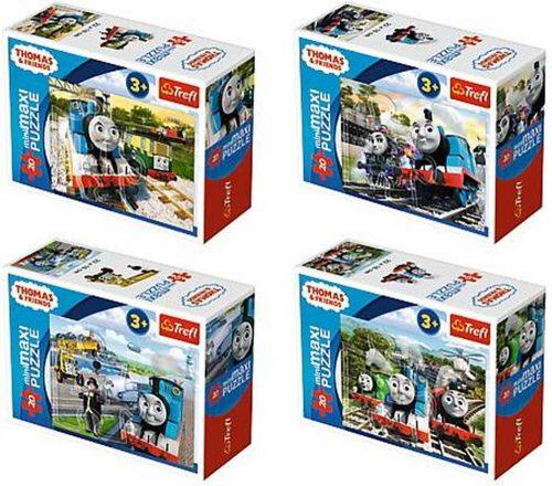 Trefl puzzle miniMaxi 20 Tomek i przyjaciele Tomek podróżnik mix wzorów