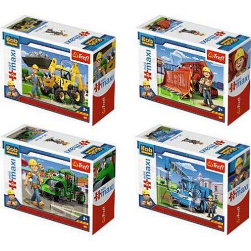 Trefl puzzle miniMaxi 20 Bob Budowniczy Bob i maszyny mix wzorów