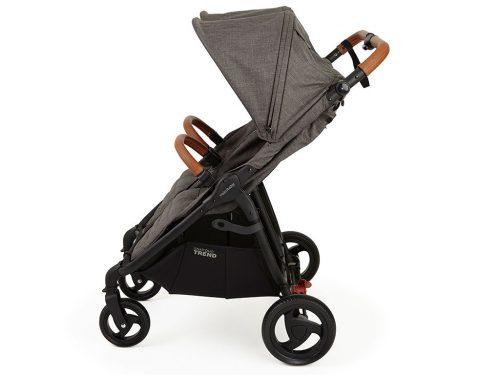 Bliźniaczy wózek spacerowy Valco Baby Snap Duo Trend kolor Charcoal