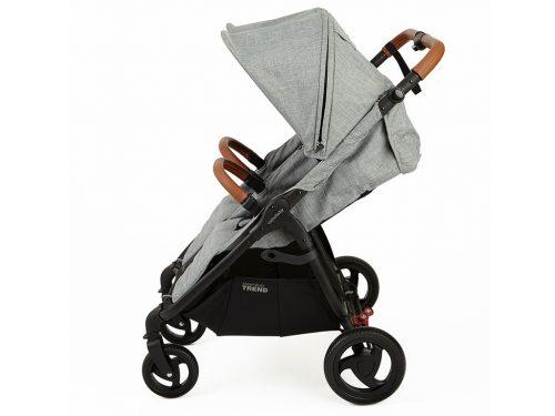 Wózek spacerowy dla dwójki dzieci Valco Baby Snap Duo Trend kolor Grey Marle