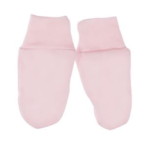 Mamatti łapki niedrapki ręklawiczki dla niemowląt róż