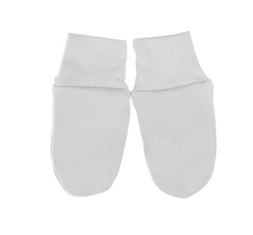 Mamatti łapki niedrapki ręklawiczki dla niemowląt szary