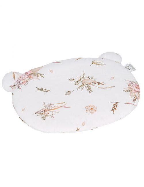 Poduszka bambusowa z uszami dla dziecka jesienne kwiaty Yosoy