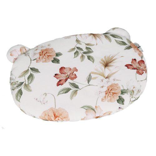 Poduszka bambusowa z uszami dla dziecka boho kwiaty Yosoy