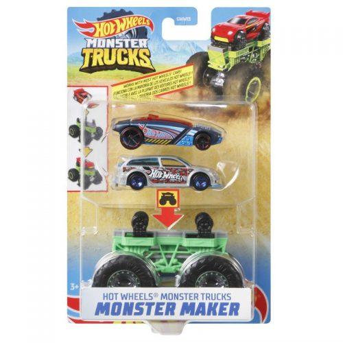 Hot wheels monster truck pojazd maker GWW15