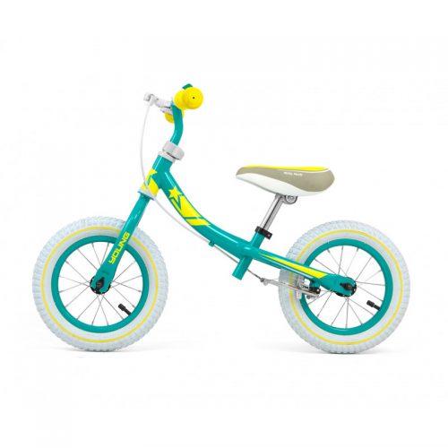 Rowerek biegowy, jeździk dla dzieci Young mint 12 cali Milly Mally