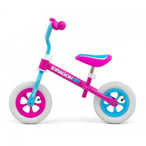 Rowerek biegowy, jeździk dla dzieci Dragon air mint 10 cali Milly Mally