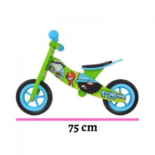 Rowerek biegowy, jeździk dla dzieci 2w1 Look bob Milly Mally