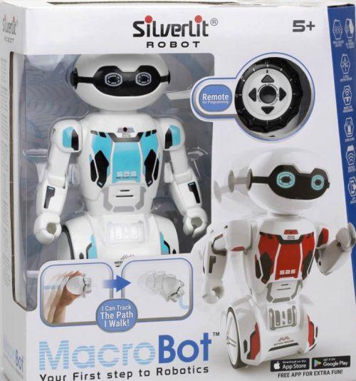 Silverlit Macrobot zdalnie sterowany pilot SBB045 niebieski