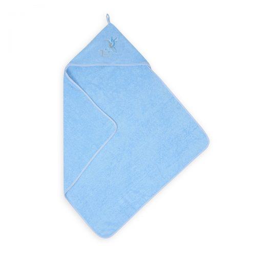 Okrycie kąpielowe dla niemowląt Robin 80x80 frotte błękit