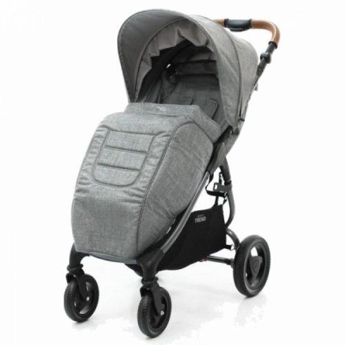 Okrycie na nóżki do wózka spacerowego Valco Baby Snap 4 Trend kolor Grey Marle