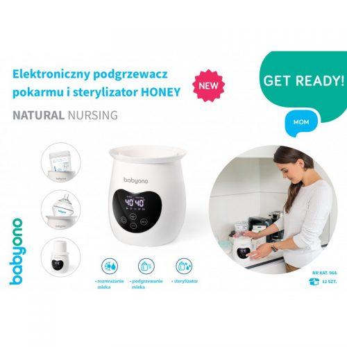 Elektroniczny podgrzewacz do pokarmu i sterylizator Honey Natural Nursing Babyono