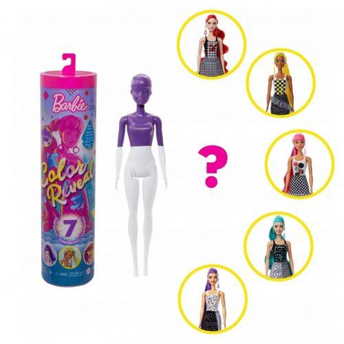 Barbie color reveal lalka monochromatyczna w tubie GTR94