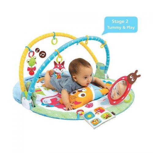 Mata edukacyjna dla dziecka Gymotion play 'n'nap 0m+