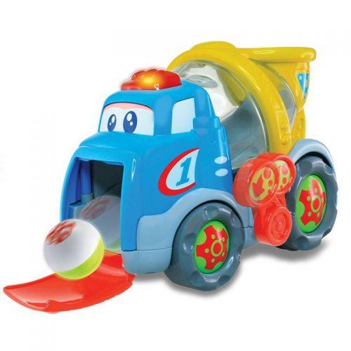 Dumel Betoniarka piłeczkowy Benio zabawka grająca 12m+