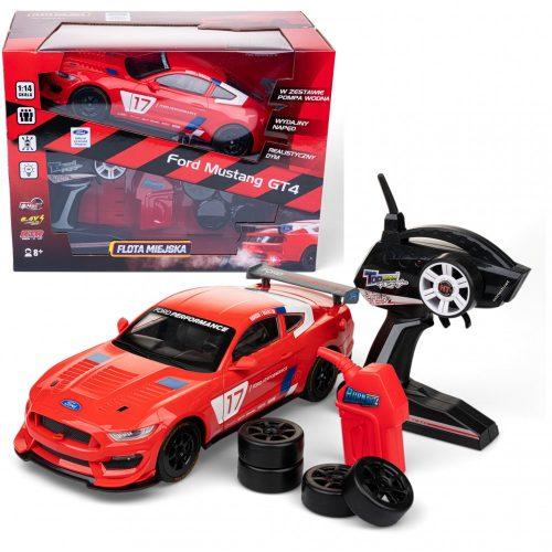 Auto zdlanie sterowane Flota miejska ford Mustang GT4 red 8+ Dumel