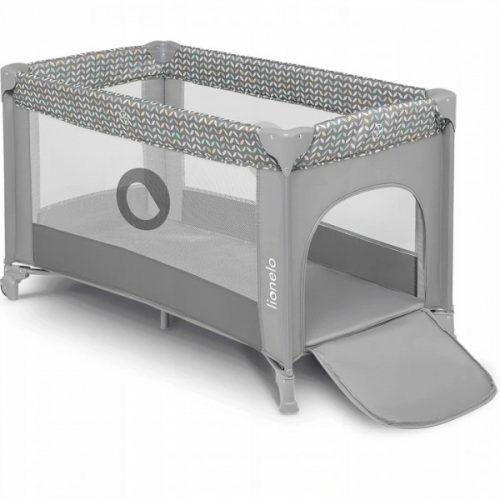 Łóżeczko turystczne 120x60 Stefi grey concrete Lionelo