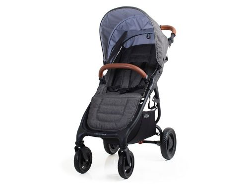 Valco Baby Snap 4 Trend V2 wózek głęboko spacerowy zestaw 2w1 kolor Charcoal + GRATIS