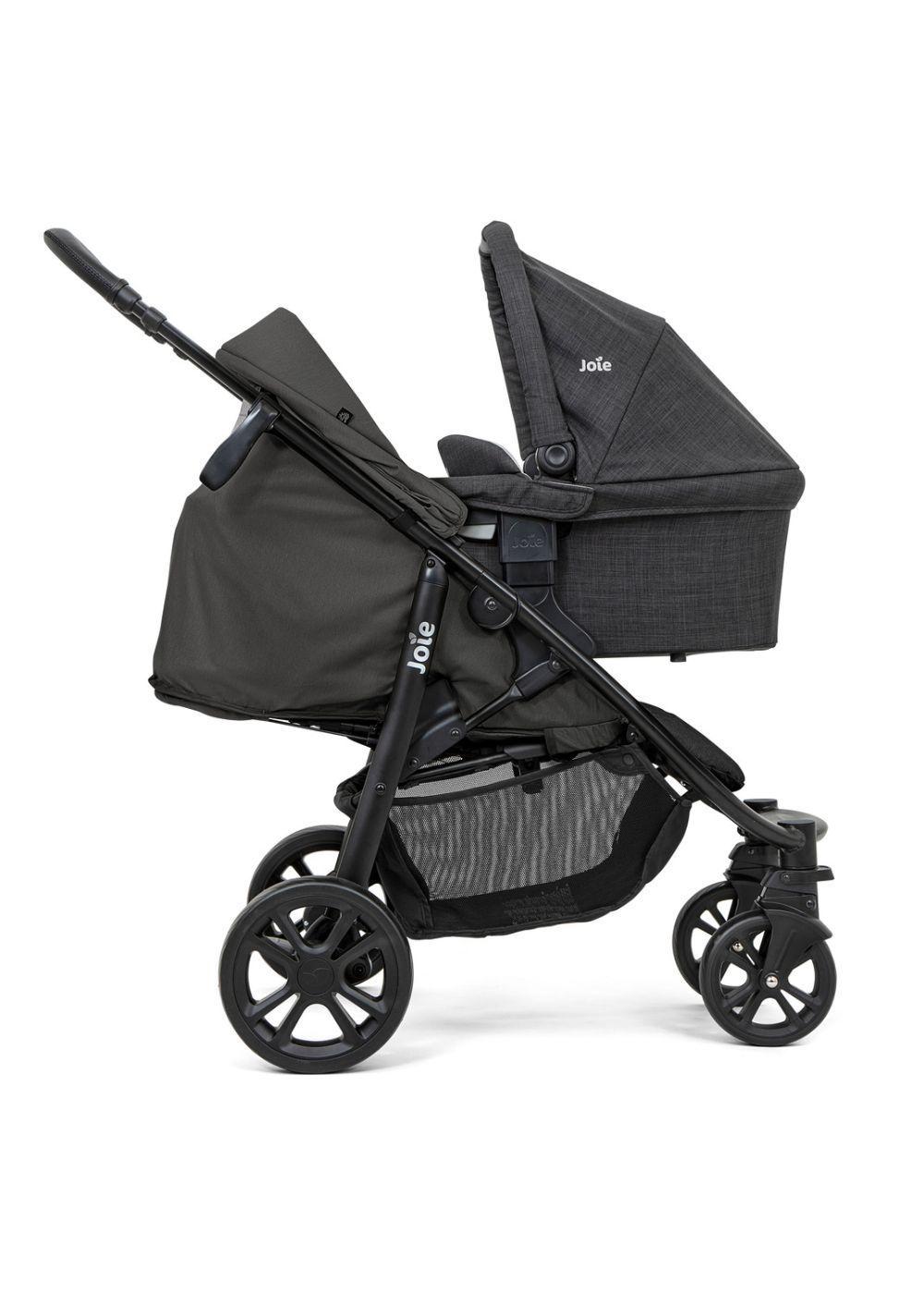 Wózek spacerowy Joie Litetrax 4 DLX przeznaczony dla dzieci do 22 kg kolor Coal
