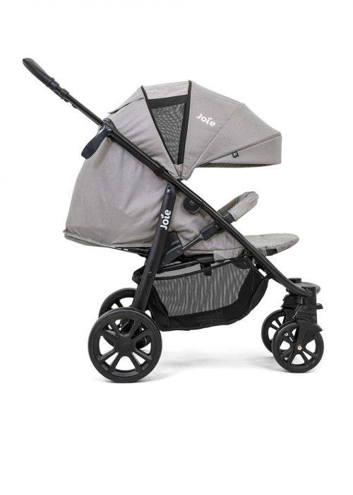 Joie Litetrax 4 DLX wózek spacerowy do 22 kg kolor Grey Flannel