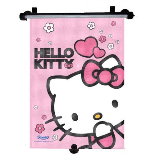 Roletka przesiwłoneczna do auta roletka dla dziecka Hello Kitty