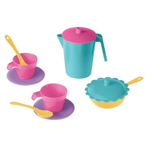 Komplet kawowy do zabawy Wader naczynia do kuchni