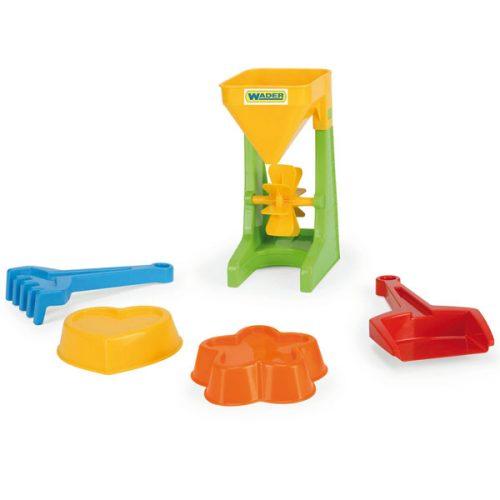 Wader Młynek z akcesoriami zabawki do piaskownicy 71450