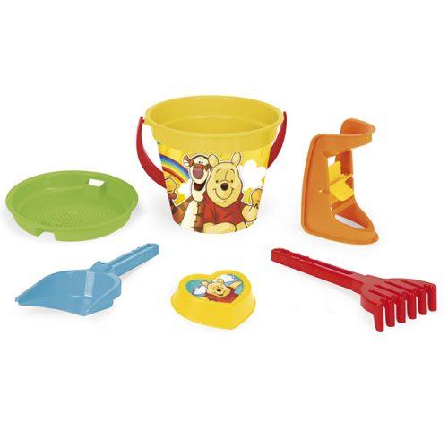 Wader Winnie the Pooh komplet do piasku 6 el. 77137