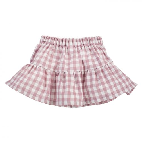 Pinokio Sweet Cherry spódniczka dla dziecka 80 różowy kratka