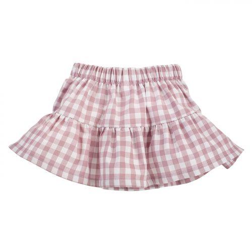 Pinokio Sweet Cherry spódniczka dla dziecka 86 różowy kratka