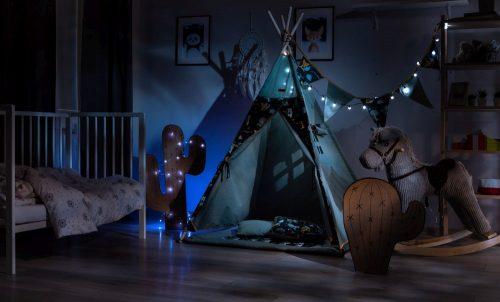 Namiot tipi dla dziecka kryjówka domek polana granatowy