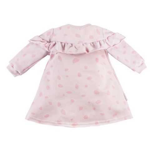 Ewa Klucze sukienka dres Unique różowa 80