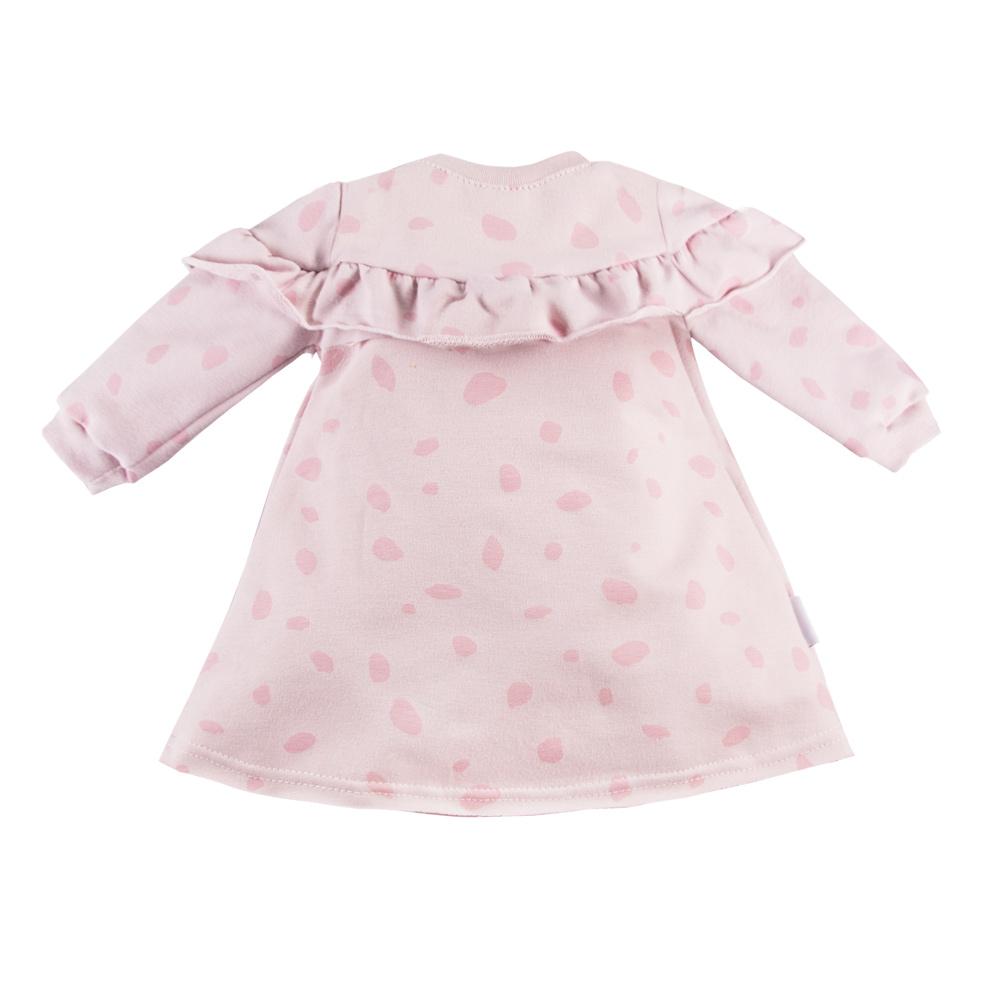 Ewa Klucze sukienka dres Unique różowa 98