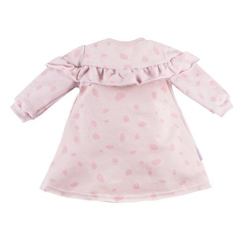 Ewa Klucze sukienka dres Unique różowa 104