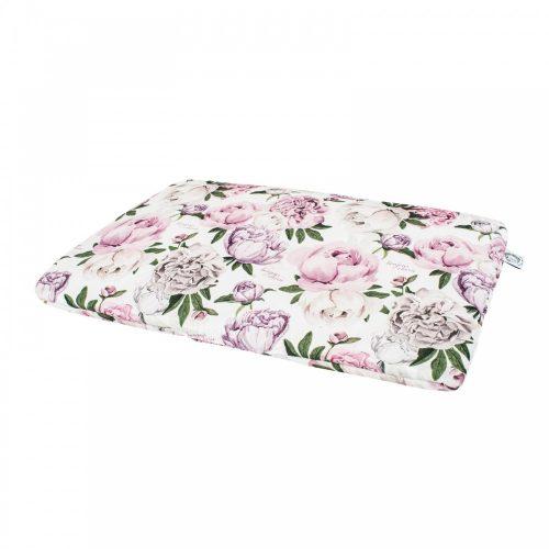Bonjour Cherie bambusowa poduszka Miś Peonie rozmiar 30x30 cm